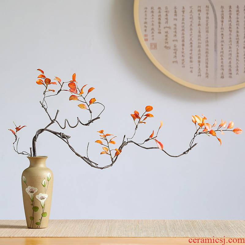 New Chinese style ceramic vase furnishing articles ceramics from I and contracted sitting room TV cabinet table dry flower light key-2 luxury decoration