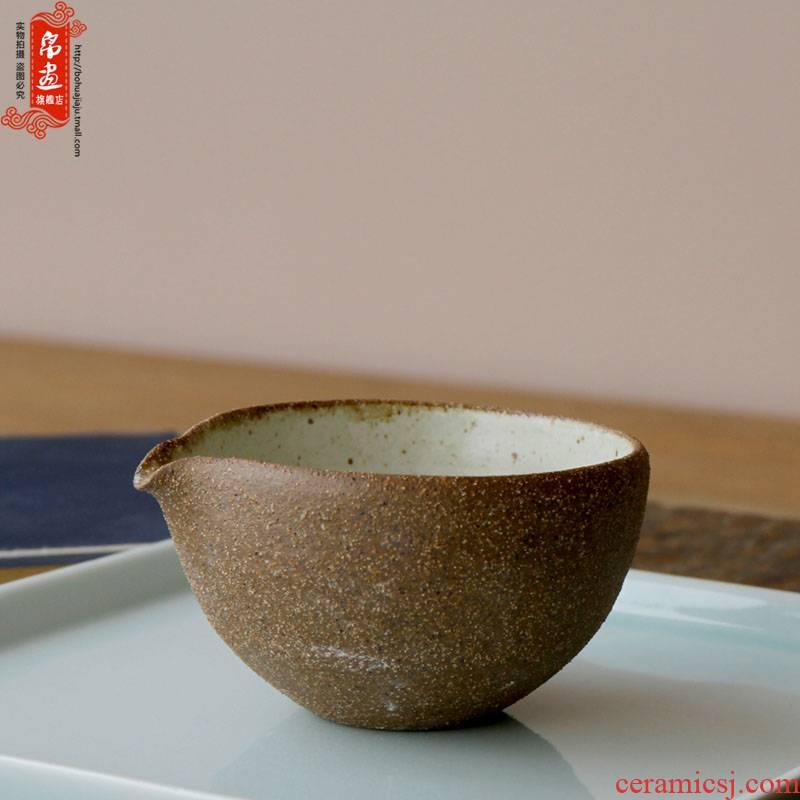 Jingdezhen ceramics craft series clay plain tea tasting a cup of tea cup, tea taking