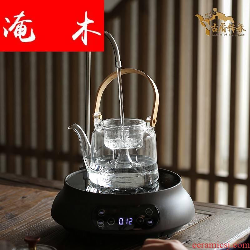 Submerged wood fully automatic electric TaoLu boiled tea pu - erh tea, black tea glass steam boiling tea stove kettle household