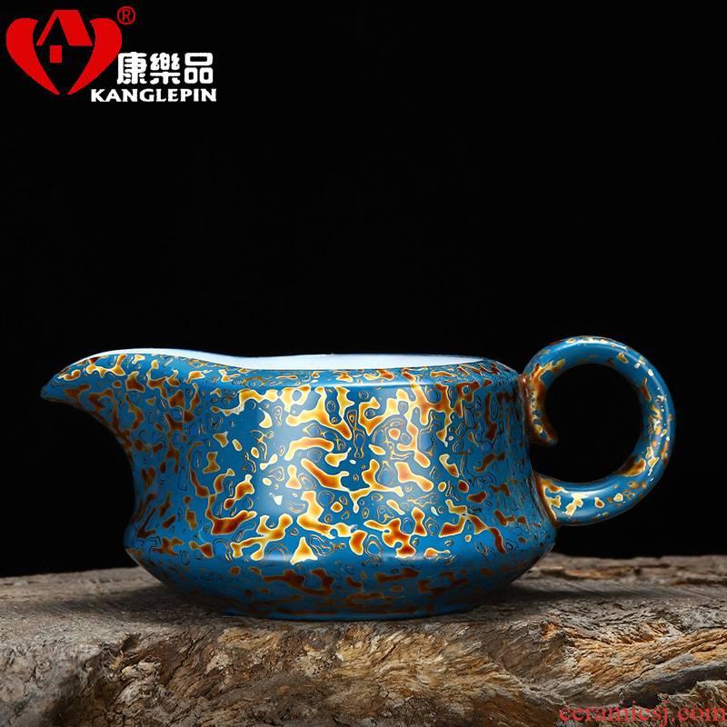 Recreational product lacquer white porcelain tea set reasonable capacity of 170 ml cup of pure manual big feihong tea sea points