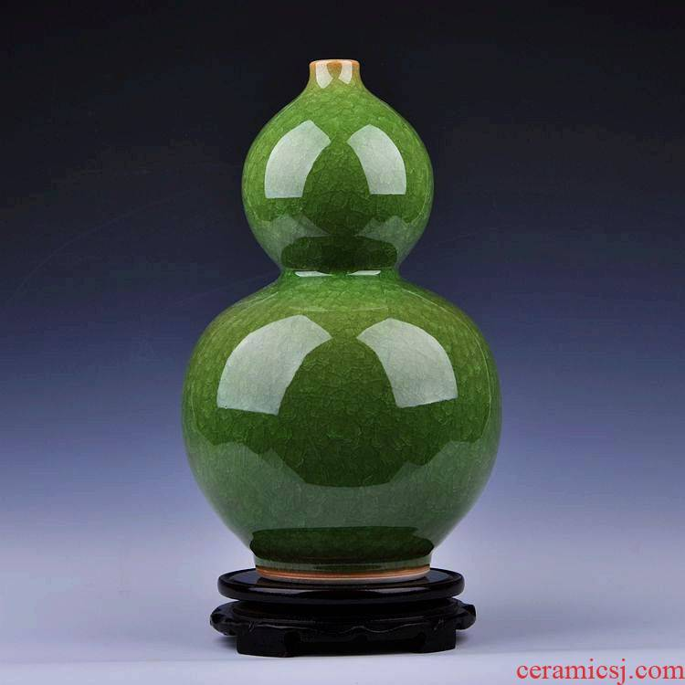 Archaize of jingdezhen ceramics up open piece of jade vase of borneol new classic modern home furnishing articles sitting room