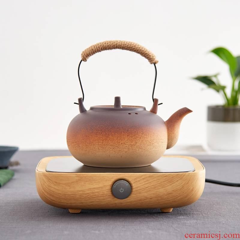 Qiao mu QGZ ceramic girder kettle kung fu tea set heat electric teapot TaoLu coarse pottery cooking pot permeating the electricity