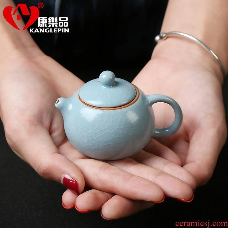 Recreational product mini your up teapot fingertips pot of small capacity ceramic pot of tea pet pocket furnishing articles to keep open single pot