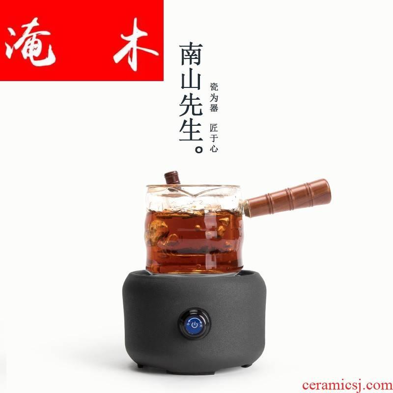 Submerged wood sleep on the side of the cooking pot of heat - resistant glass tea machine electricity TaoLu teapot tea, black tea tea steamer