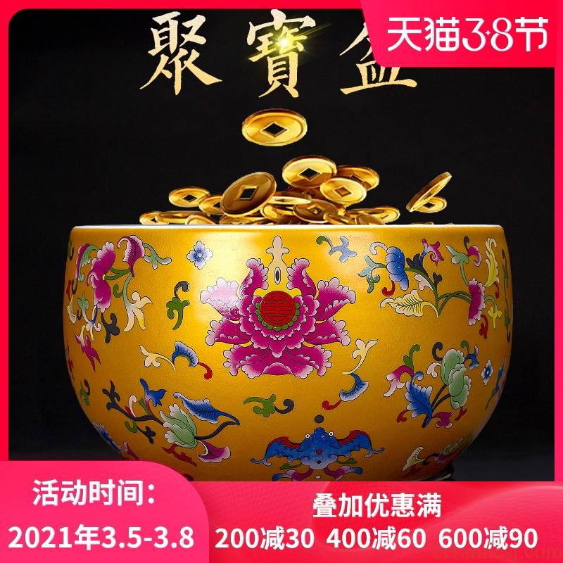 Jingdezhen ceramics cornucopia furnishing articles rich ancient frame home decorate the sitting room porch handicraft opening gifts