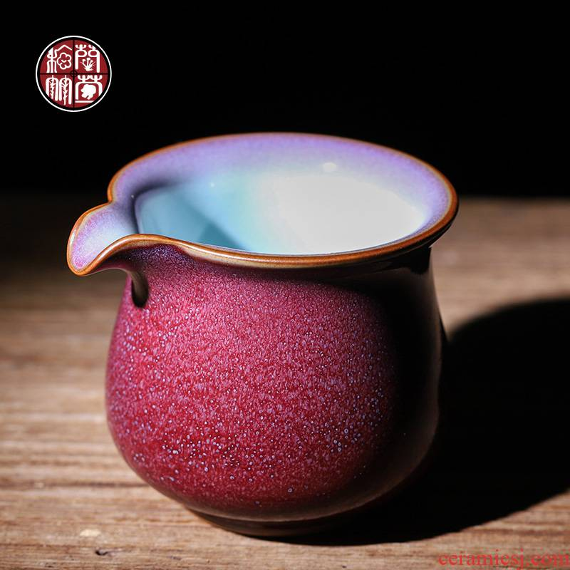Jin jun porcelain up with tea and a cup of pure manual kunfu tea large ceramic fair keller points of tea, tea accessories