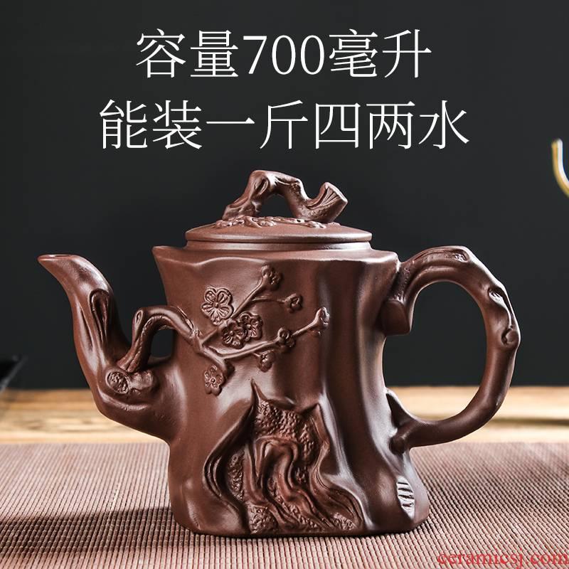 Yixing it to happens capacity of large teapot manual single pot of ceramic teapot tea sets tea cups