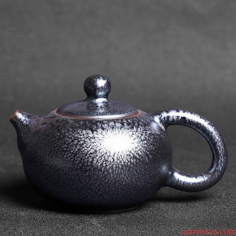 Kunfu tea home tea ware built light porcelain teapot single Chinese single pot of ceramics filter small teapot with one person