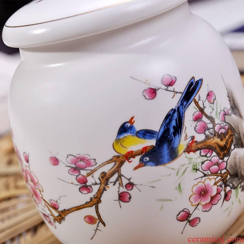 Qiao mu CMK ceramic tea pot small number half jins to seal pot black tea, green tea POTS