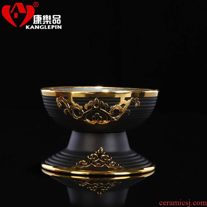 Recreation an inset jades violet arenaceous) tea filter mesh stainless steel ceramic creative kunfu tea tea accessories