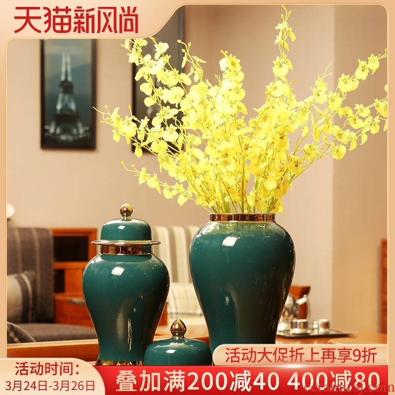 The New Chinese jingdezhen ceramic vases, general storage tank sitting room porch place between example home decoration