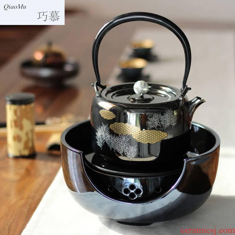 Qiao mu mini electric TaoLu home office boiling tea tea machine intelligence.mute keeping in good health health kettle