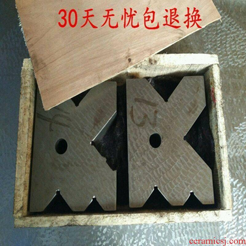 New special cast iron V frame crossed V - shaped iron test V block measuring V V base 150 * 125 * 4