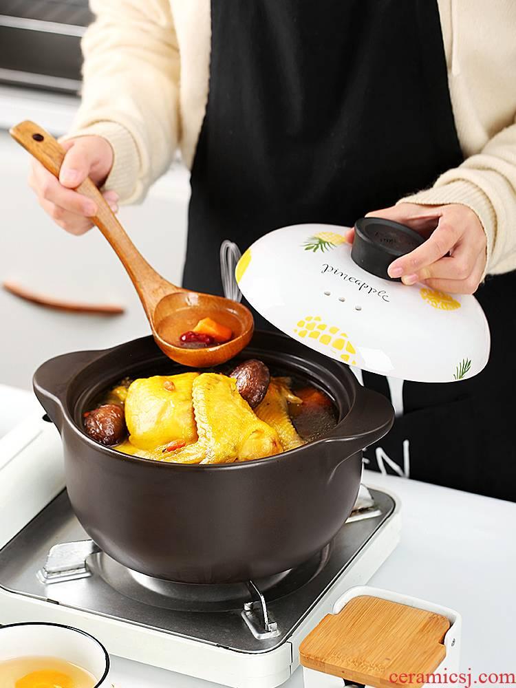 Casserole stew pot small ceramic Casserole soup rice gas buner special soup pot pot household gas pot soup pot