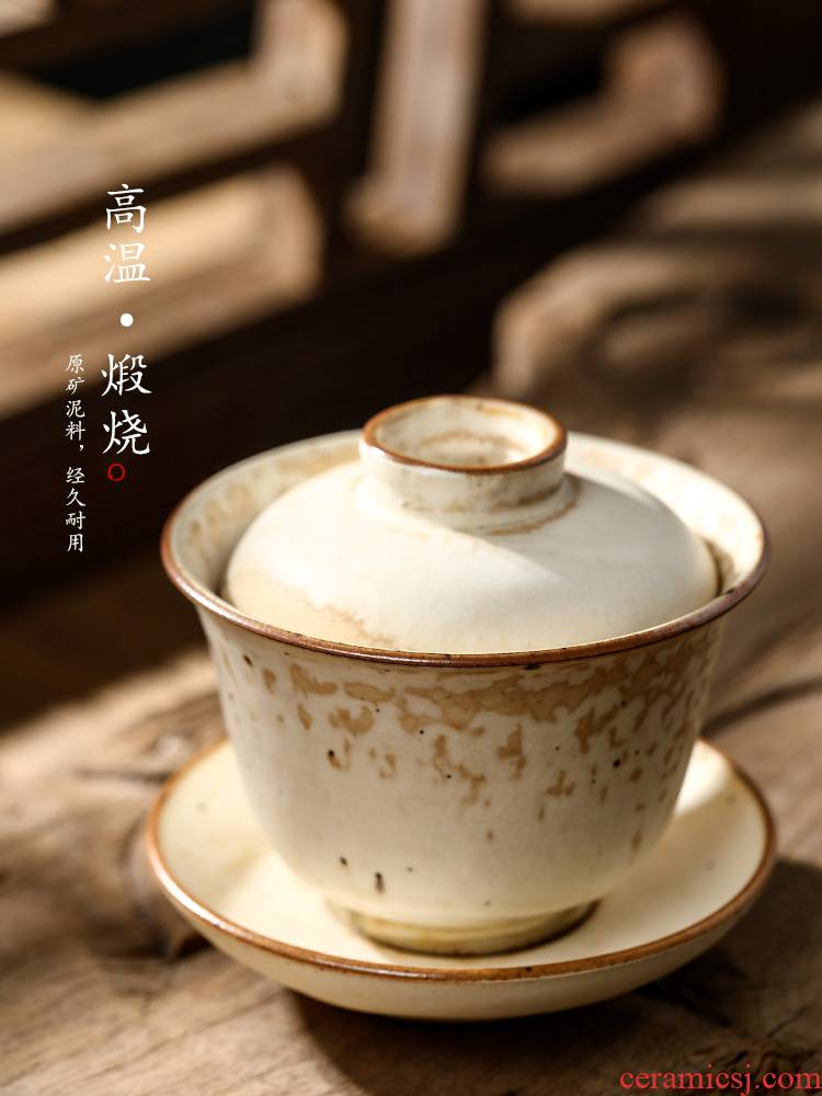 Jingdezhen pure manual only three tureen tea cups large hot clay teapots increasing kung fu tea set. A single