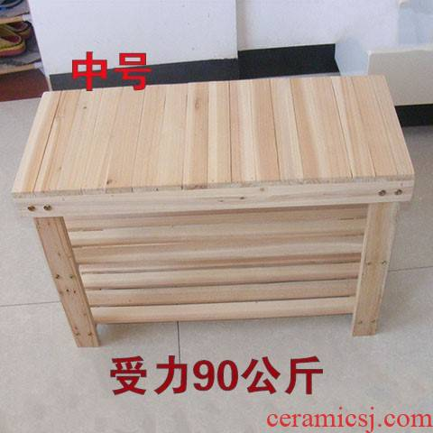 Solid wooden shoes in shoe who tank aircraft wooden shelf rack shelf layer printer stands of water tank base