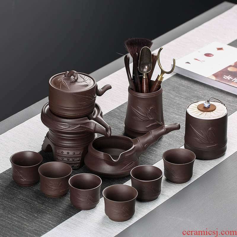 Creative violet arenaceous) implement lazy people make tea tea tea strainer filter an artifact tea tea sets accessories group fights
