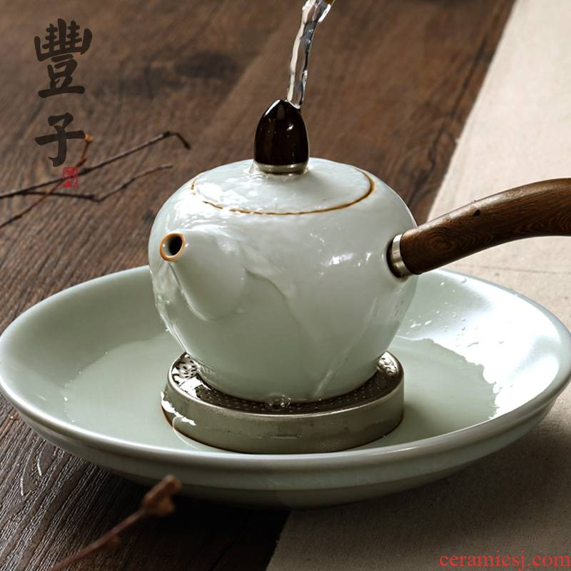 Qiao MuFengZi your up dry water table circular bearing kung fu tea tea tray was checking ceramic pot dry dry mercifully bowl