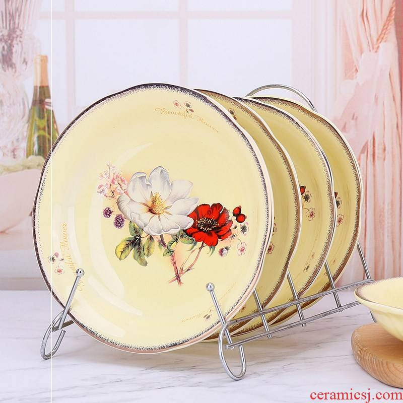 7 inches dish suits for 10 8 creative move home plate composite ceramic tableware ceramic dish plate plate plate plate