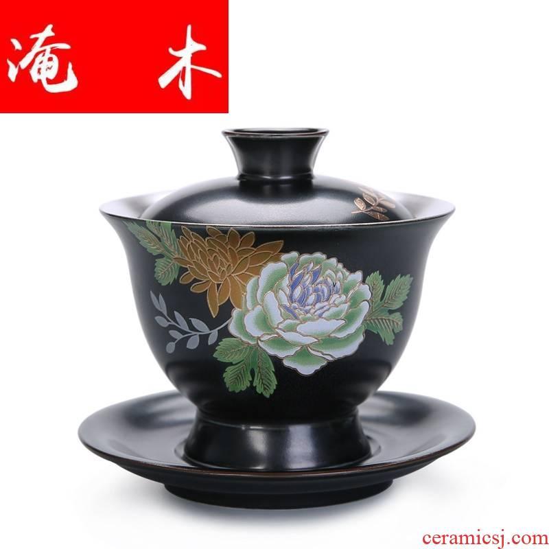 Submerged wood jingdezhen manual paint set mine loader 999 sterling silver tureen kung fu tea set large blue and white porcelain ceramic cups
