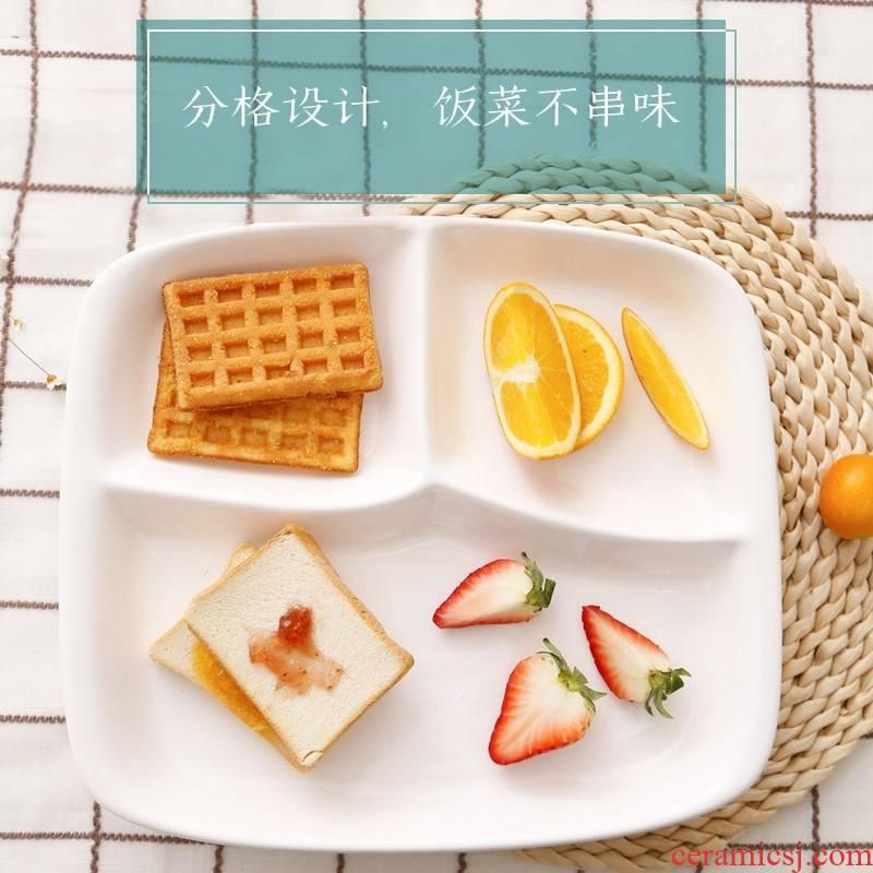 Japanese ceramics tableware frame dish dish dish dish household creative space FanPan cent eat much fast food.