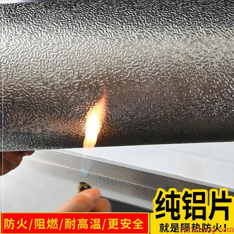 The kitchen fire becomes stick kitchen'm gas oil from high - temperature hold stove thicken wall ceramic tile stick is flame retardant ano waterproof