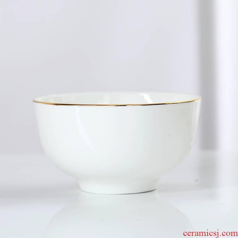 Jingdezhen ceramic bowl home eat creative up phnom penh small bowl of soup bowl rainbow such as bowl bowl ipads porcelain tableware rice bowls