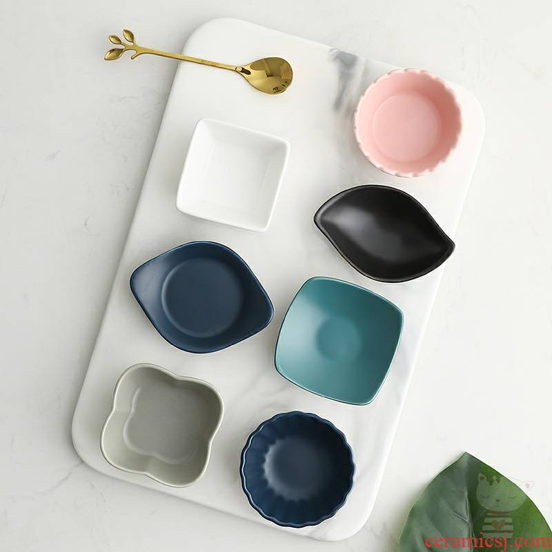 Kindness wind snacks snacks Japanese household ceramics flavour dish dish dish suits for small bowl dish vinegar dip dish of soy sauce dish