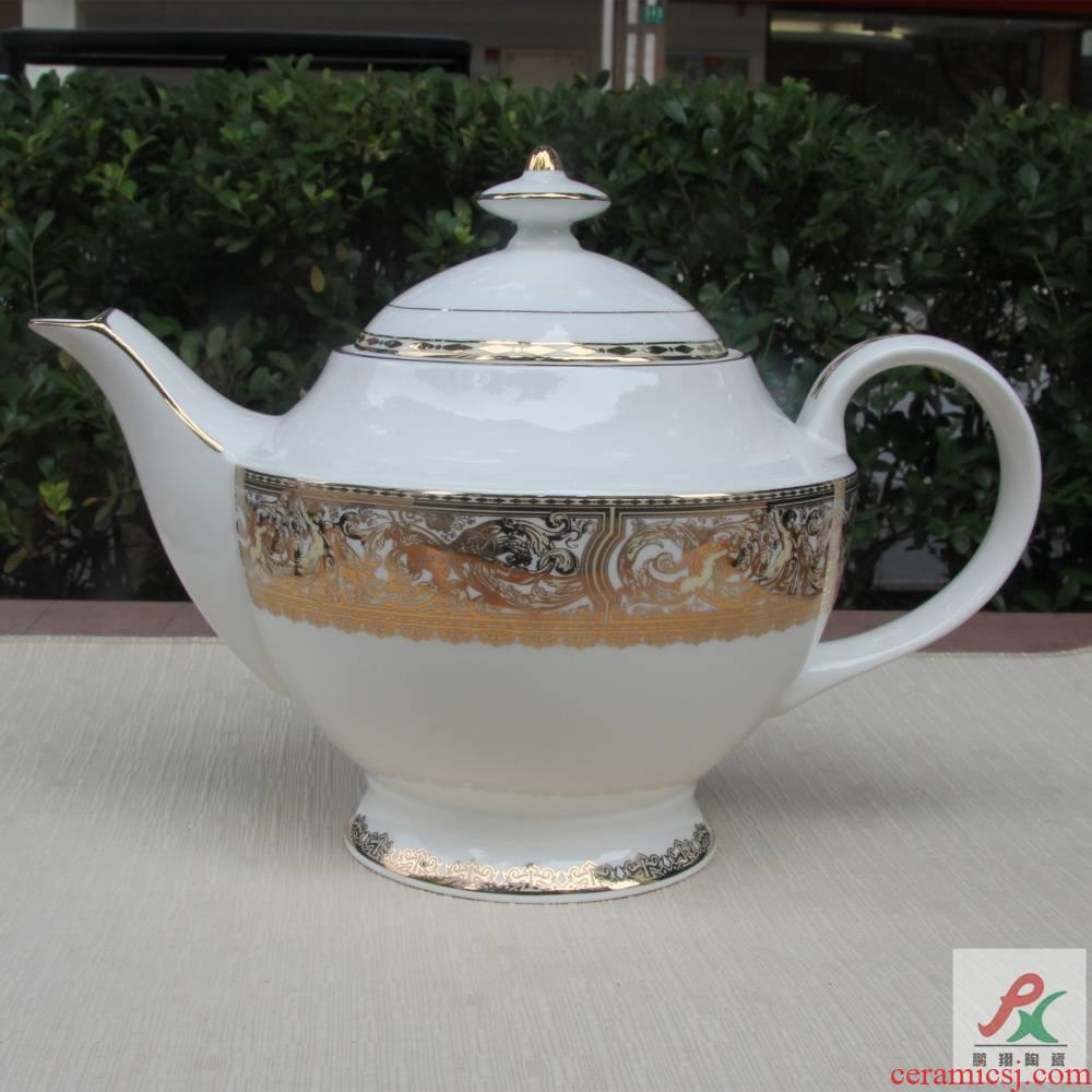 Qiao mu patron saint of tangshan ipads porcelain British red teapot European coffee pot of up phnom penh Chinese teapot mocha pot of tea