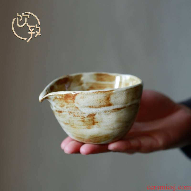 Ultimately responds to chai up change ceramic zen tea tea filter and fair keller cup high - grade Japanese tea sea hand made points