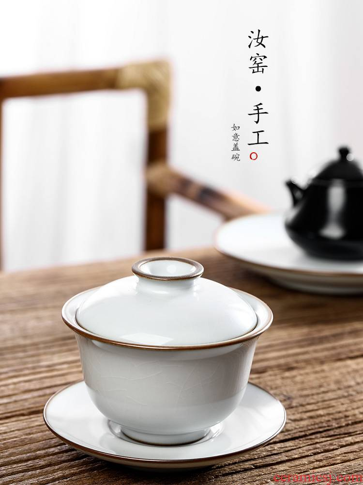 Your up with pure manual only three tureen tea cups hot upset want to use the open piece of pottery and porcelain of jingdezhen kung fu tea set