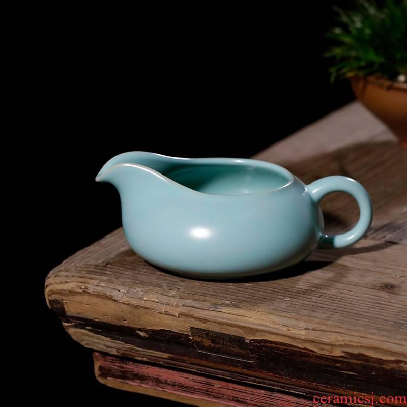 Qiao mu PMZ archaize generation your up ceramic fair keller kung fu tea accessories tea tea tea sea to hold points well