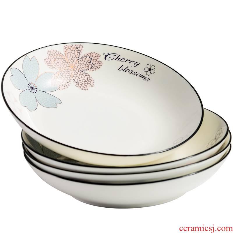 Utsuwa creative Nordic ceramic dish dish dish home dinner plate combination suit caliber tableware the hot plate