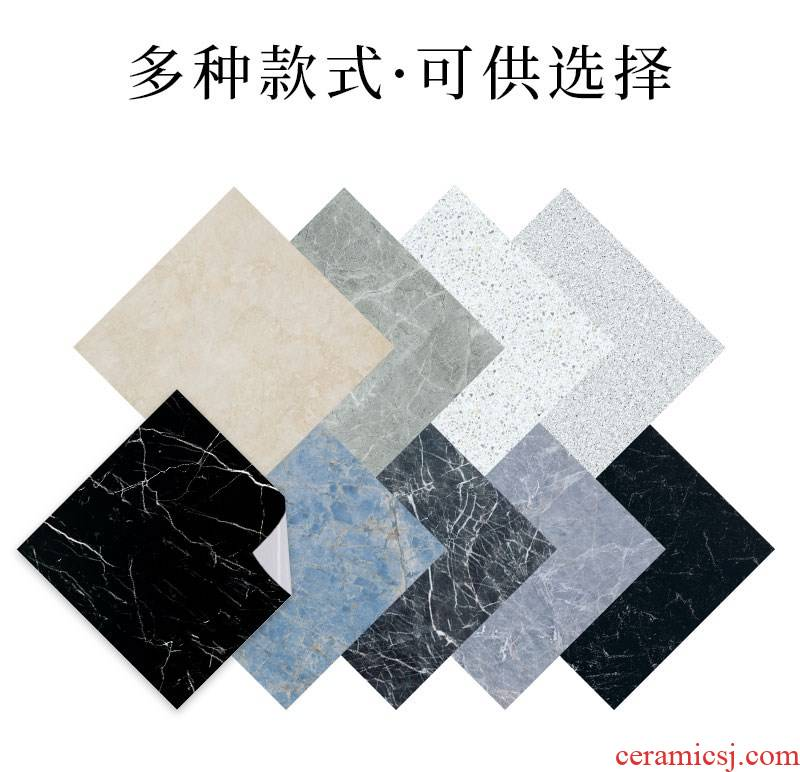Which marble bathroom waterproof label to stick adhesive non - slip high - temperature kitchen wall floor tile ceramic tile to stick