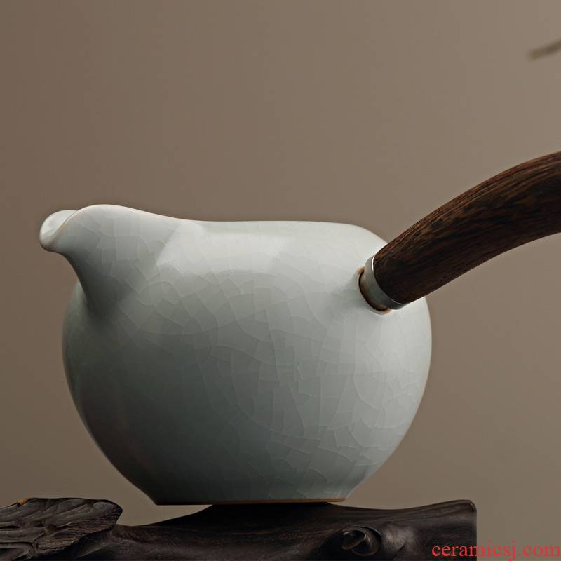 Qiao mu Taiwan FengZi your up side put the chicken wings mywood tea sea ceramics fair keller manual open tea set points