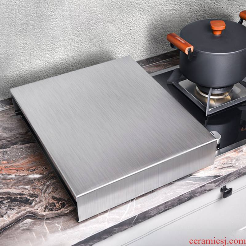 Stainless steel kitchen'm gas cover plate induction cooker r shelf support household gas stove base mesa in the kitchen
