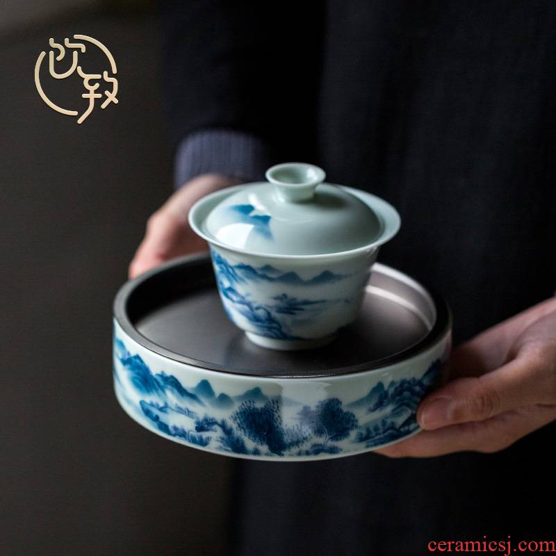 Ultimately responds to jingdezhen glair antique porcelain pot bearing water separable ceramic tureen tea cups dry terms