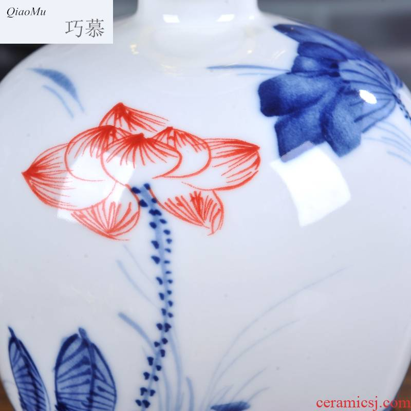 Qiao mu jingdezhen ceramic seal jars wine bottles it receive 3 jins of homemade liquor store wine wine