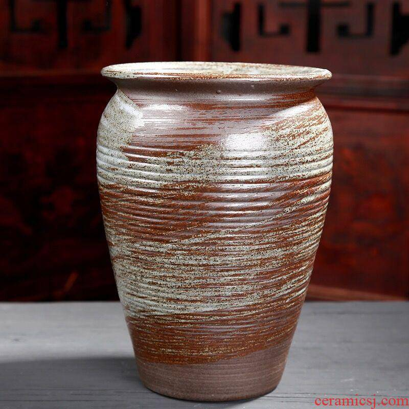 Flowerpot ceramic fleshy old large diameter from running the plants flower implement simple vases, indoor and is suing balcony ceramic flower pot expressions using meat