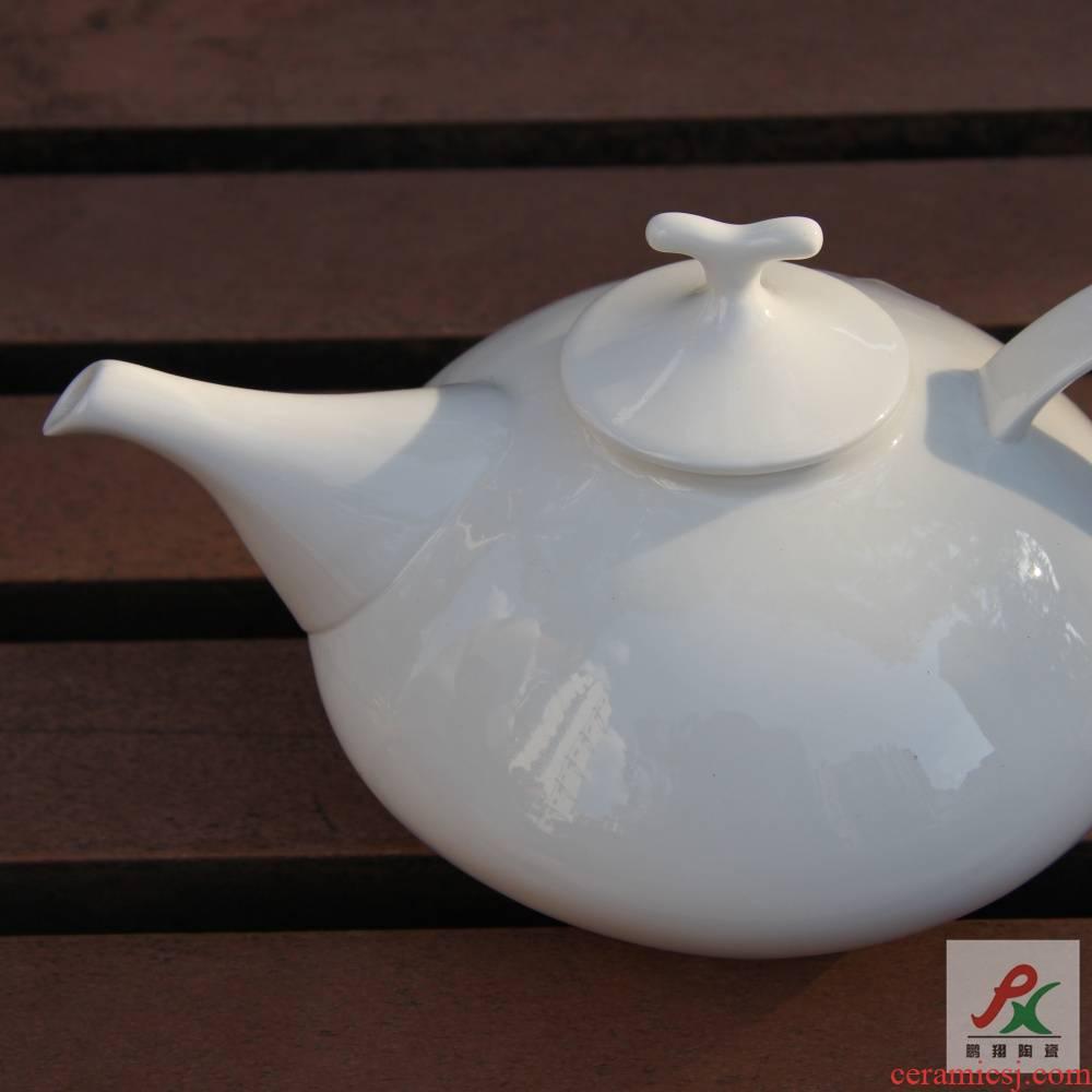Qiao mu tangshan ipads porcelain pure Chinese style flower pot teapot red teapot coffee pot moga pot pot of coffee