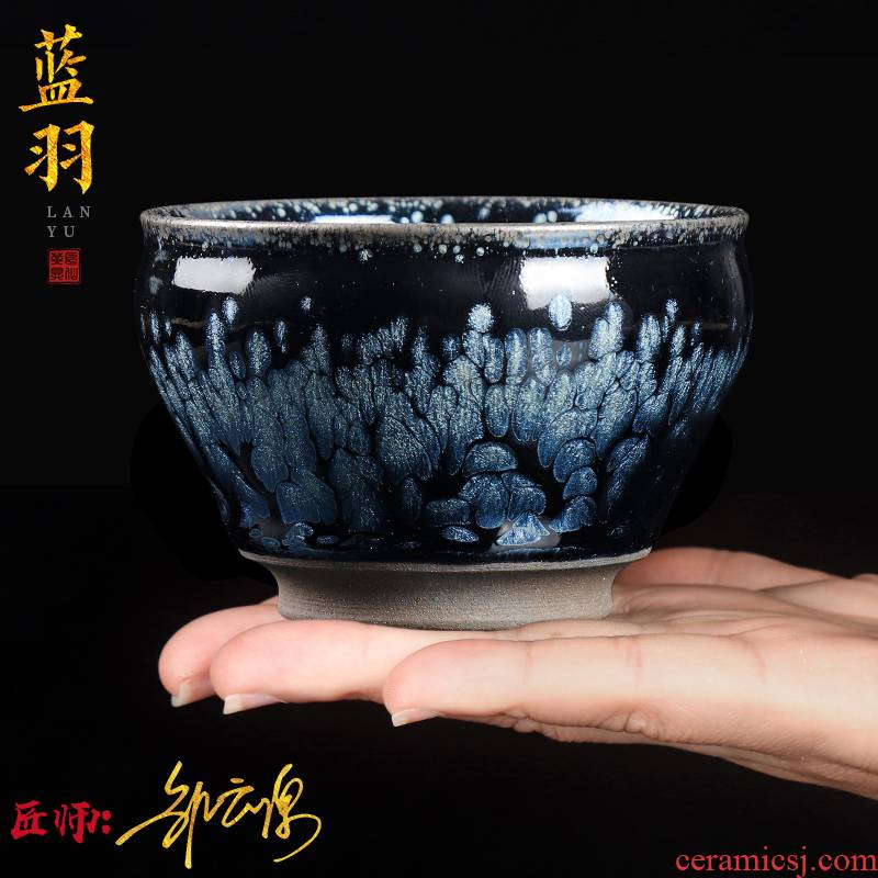 The Master artisan fairy Zou Yunyuan built one Master cup personal special ceramic cups kung fu tea cup tire iron