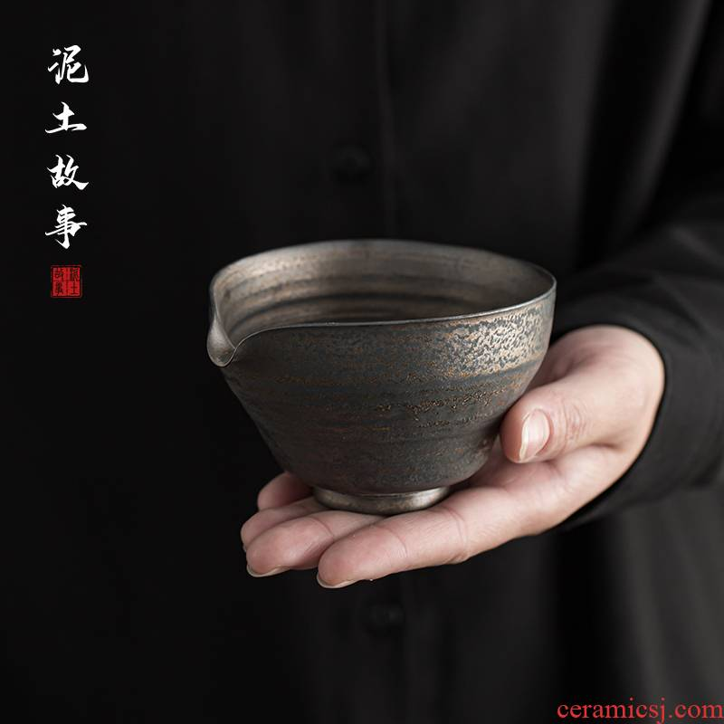Jingdezhen checking fine gold glaze ceramic fair zen cup size and a cup of tea sea kung fu tea tea set points