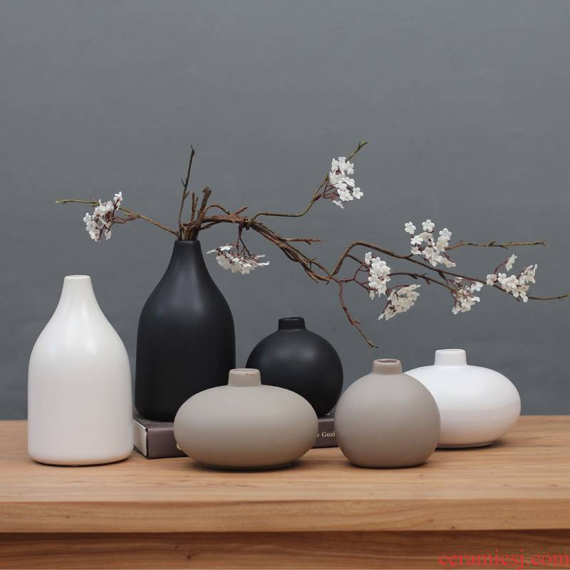 Special packages mailed Japanese zen ceramic vase modern Chinese style household antique frame TV ark adornment furnishing articles