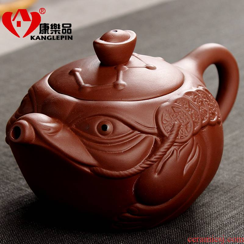 Recreational tea with elegant it big teapot zhu mud gustavo pot famous kung fu tea teapot tea set
