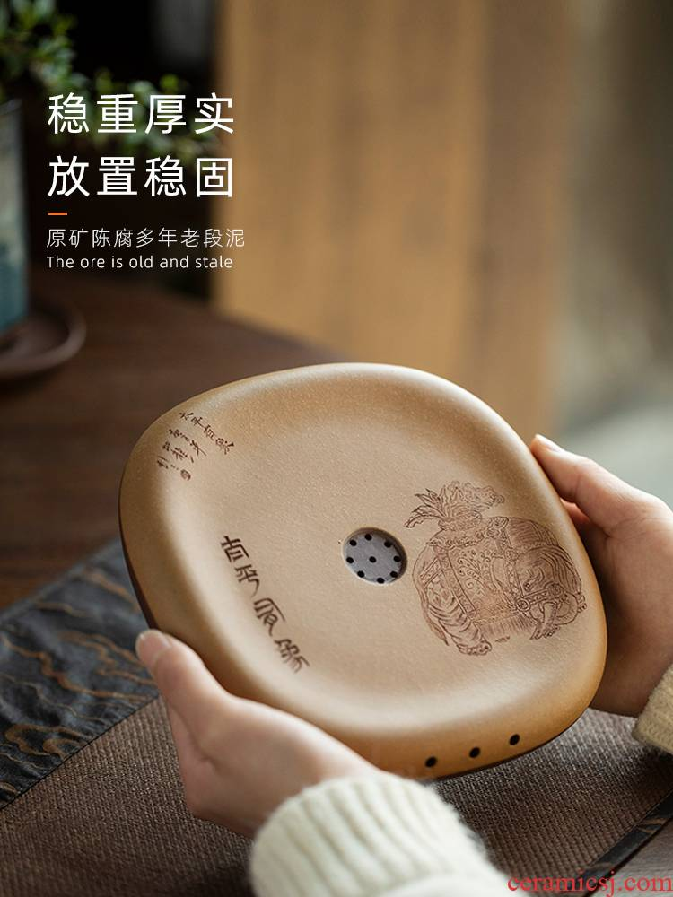 All hand period of taiping mud is like a pot of bearing dry mercifully a pot of tea accessories kung fu tea tea base