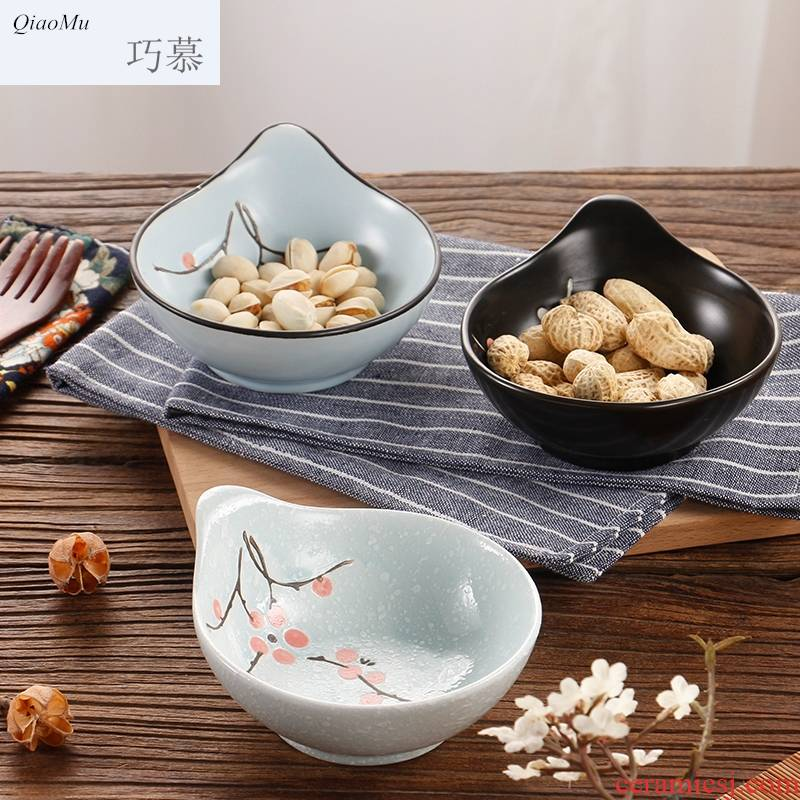 Longed for Japanese and Korean ceramics sauce vinegar snack food bowl to restore ancient ways opportunely cooking sushi plate of hot pot seasoning sauce dish dish of two meals