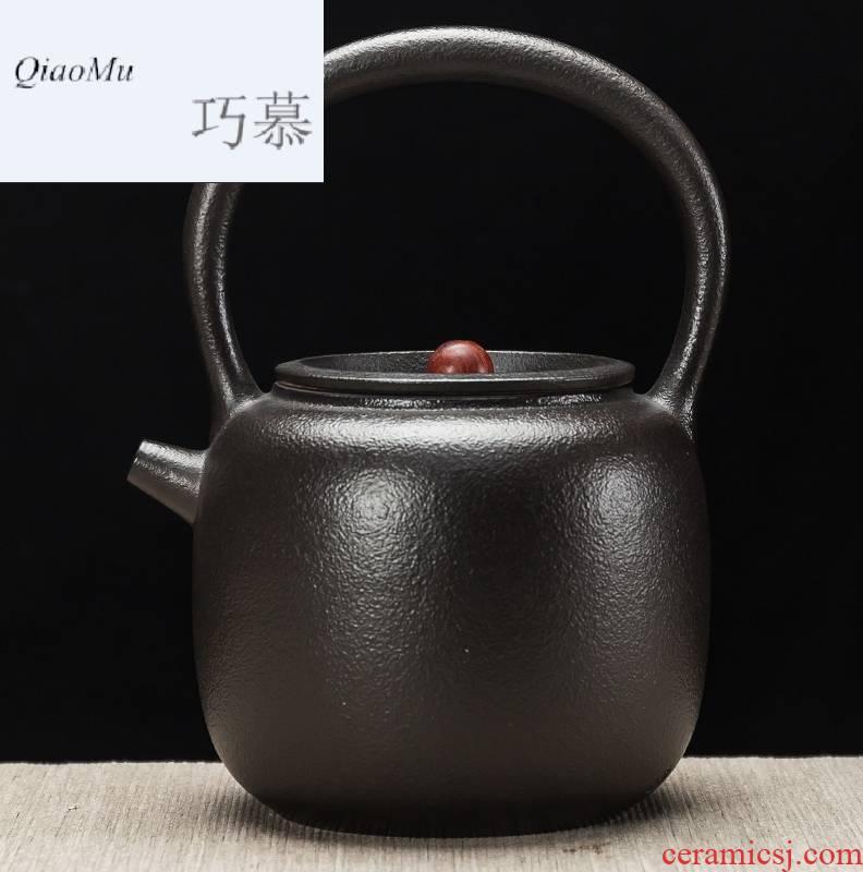 Qiao mu tea TaoLu ceramic cooking kettle boil tea machine large capacity water jug kettle girder cooking pot