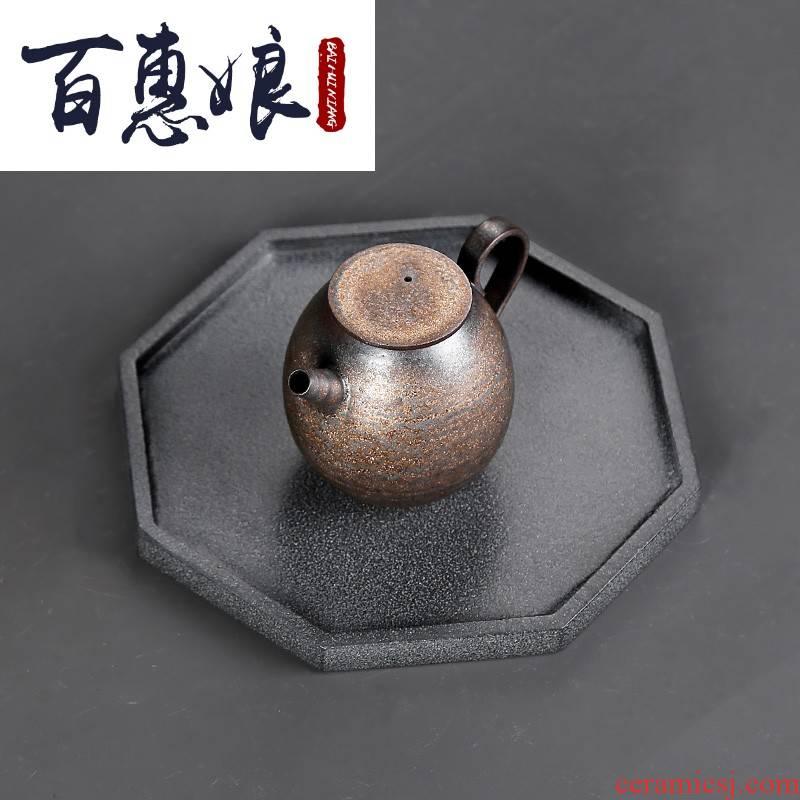 (niang sharply bearing rock star tea pot of tea accessories bearing dry mercifully machine zero with kung fu tea utensils Japanese ceramics