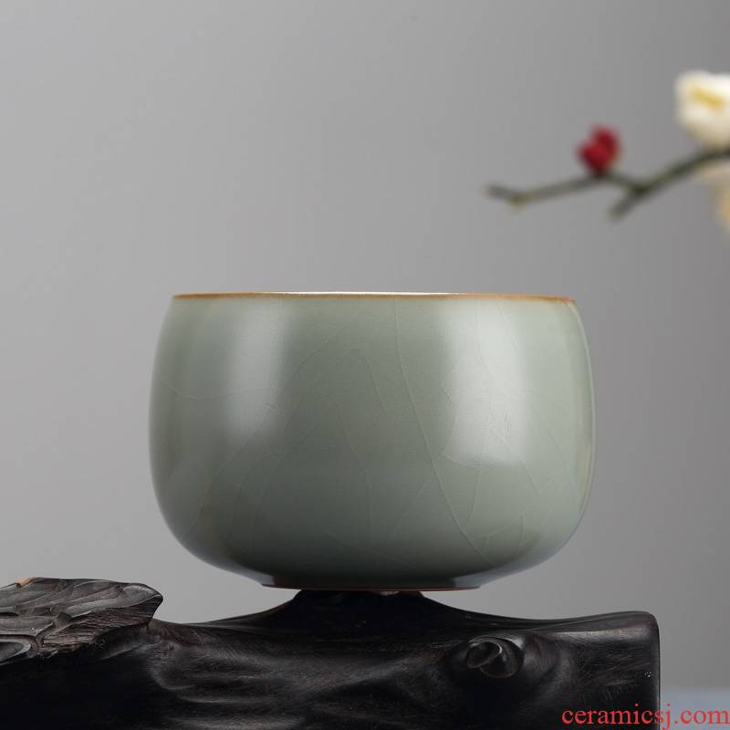 Longed for up with discretion Chinese style restoring ancient ways opportunely small household ceramic cups kung fu tea set sample tea cup personally by hand