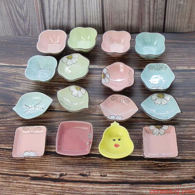 Take vinegar dish plate ceramic move have baby butterfly house dinner dish consisting ltd. dip small plate dish restaurants